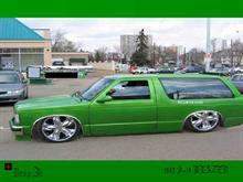 Green S-10 Blazer