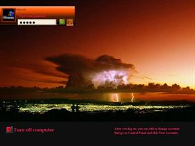City Storm at Dusk