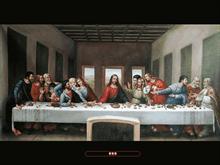 "da Vinci's, ""The Last Supper""  4X3"