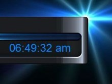 Dark Dreams digi-clock