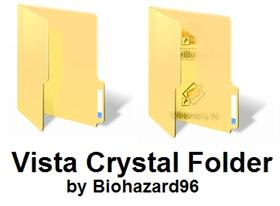 Windows Vista Crystal Folder