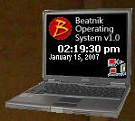 Laptop Beatnik Grey