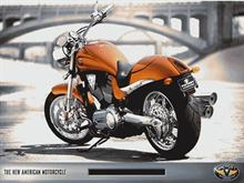 Victory Hammer Motorcycle