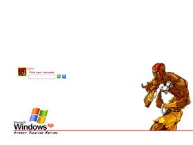 Street Fighter Logon - Dhalsim