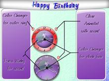 Birthday Clock