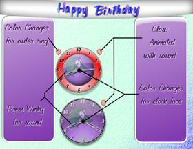 Birthday Clock