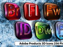 Adobe 3D Icons