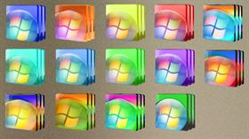 RC1 Vista Orbs Folder Icons