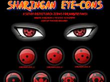 Sharingan Eye-cons