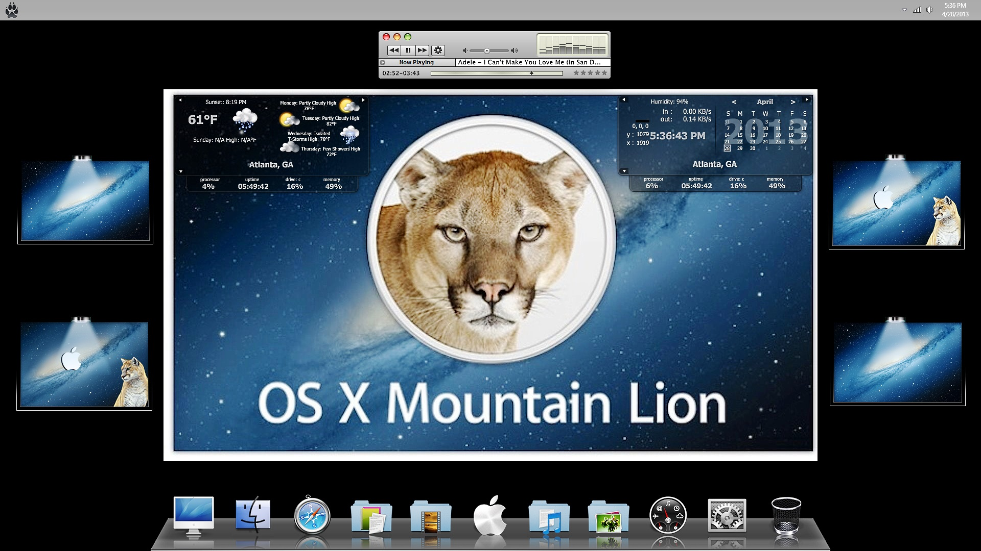 Mac OS X Mtn Lion 6