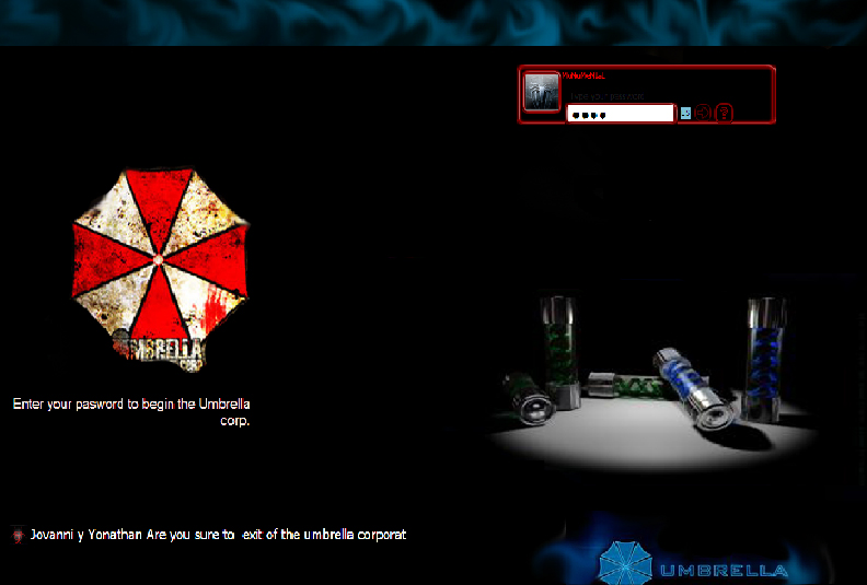 MY DESKTOP - UMBRELLA CORP. XP - YouTube