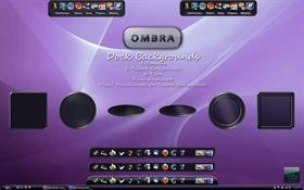 Ombra Dock Backgrounds
