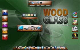 Wood Glass