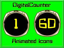 DigitalCounter Animated