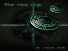 Star cross rings-tile
