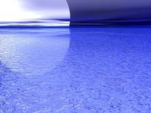 Ice Moon: Blue