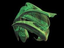 Green Smudge Fractal
