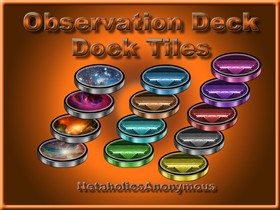 Observation Deck Dock Tiles