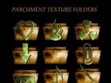 parchment folders