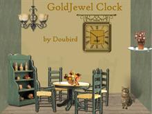 GoldJewel Clock