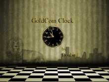 GoldCoin Clock