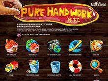 Pure handwork