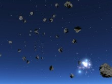 Asteroids Space Plasma