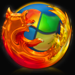 Firefox + Windows (6 icons)