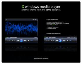 X windows media player