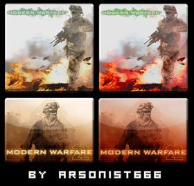 Modern Warfare 2 DockIcons