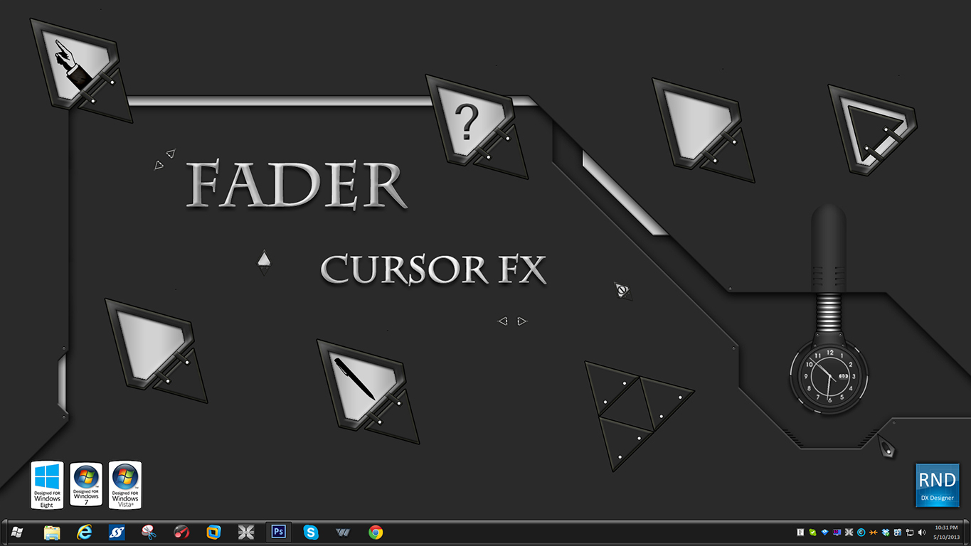 Fader CursorFX