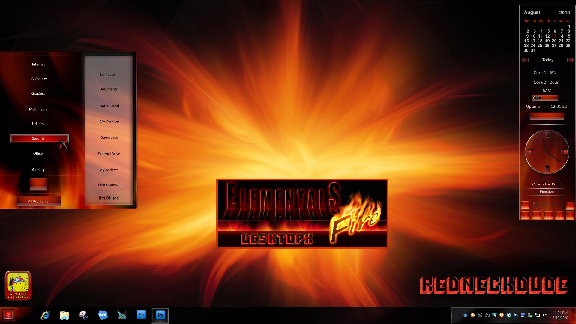 Elementals Fire DX
