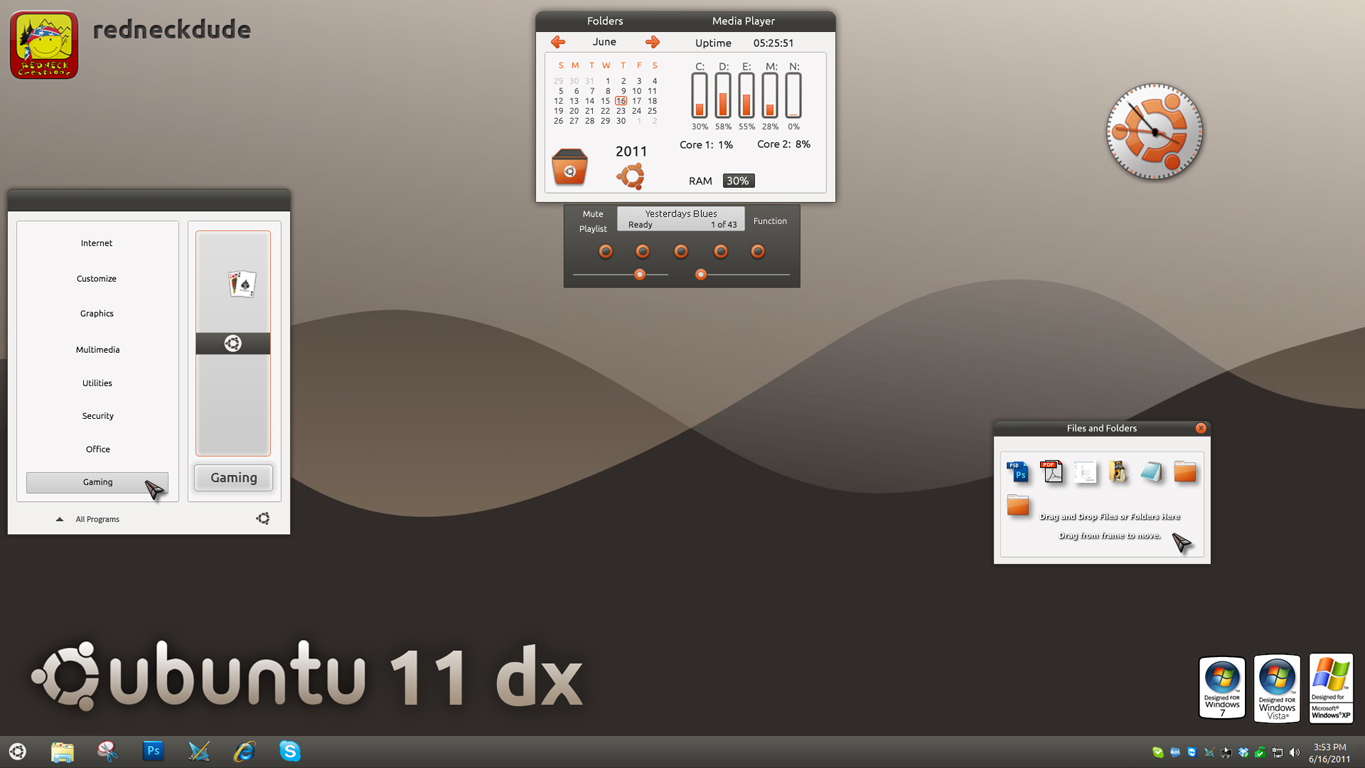 ubuntu 11 dx