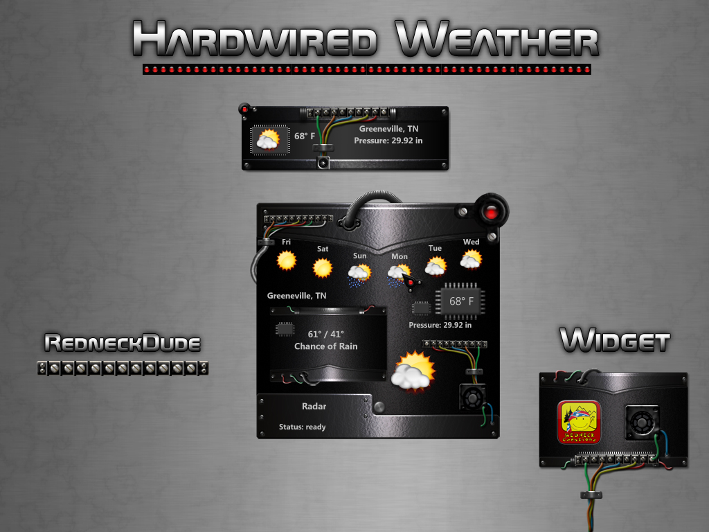 Hardwired Weather Widget
