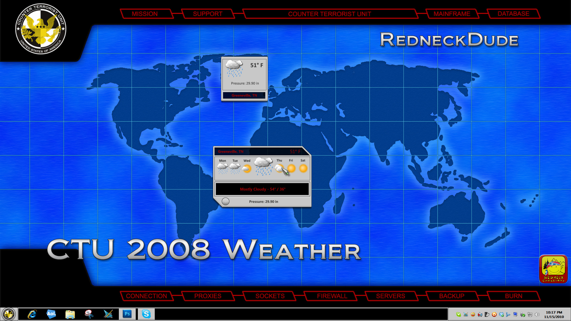 CTU 2008 Weather