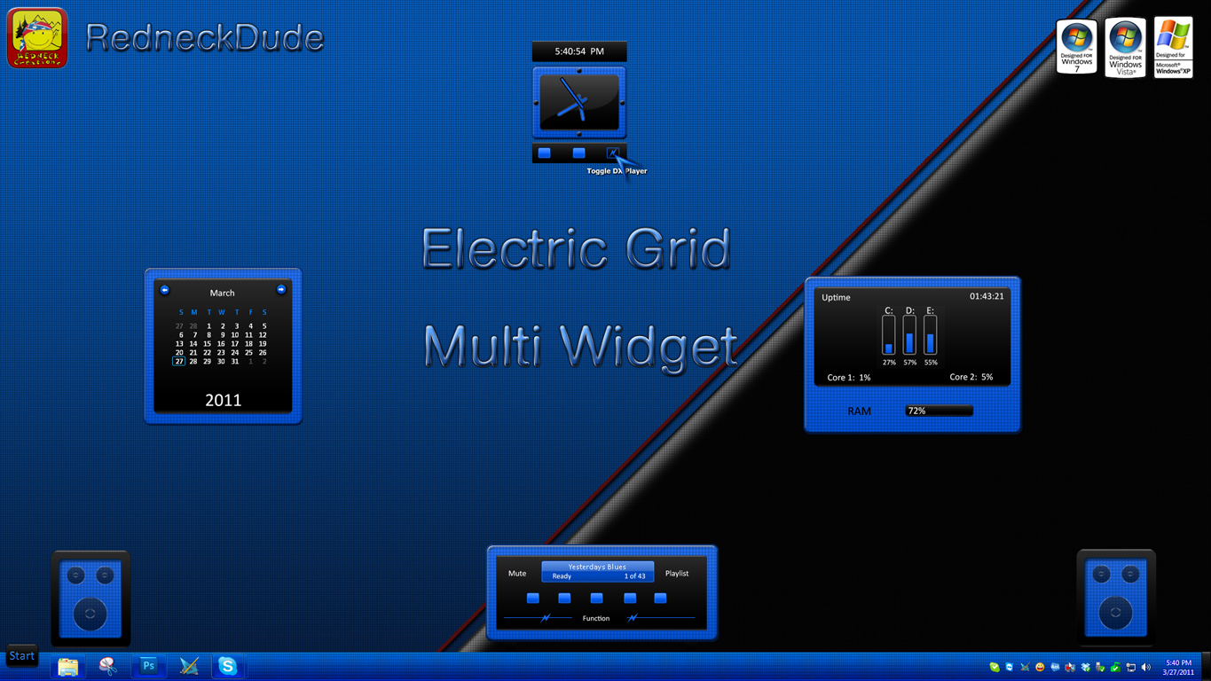 Electric Grid Multi Widget