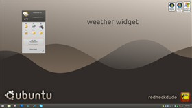 ubuntu 11 weather widget