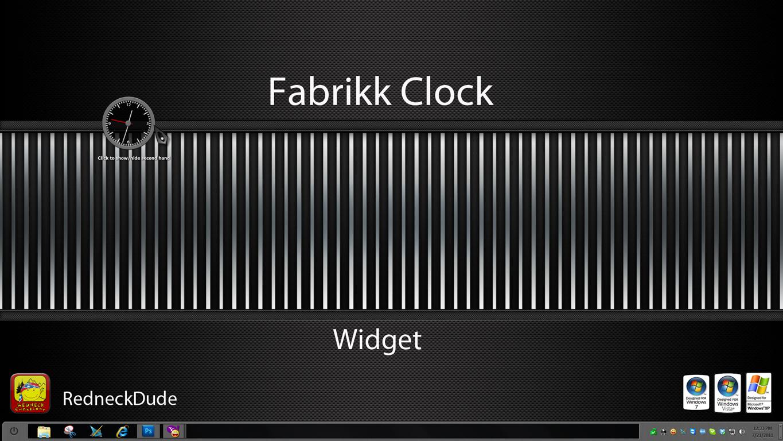 Fabrikk Clock Widget