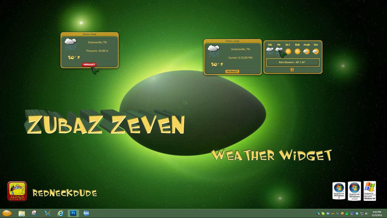 ZubaZ ZeveN Weather Widget