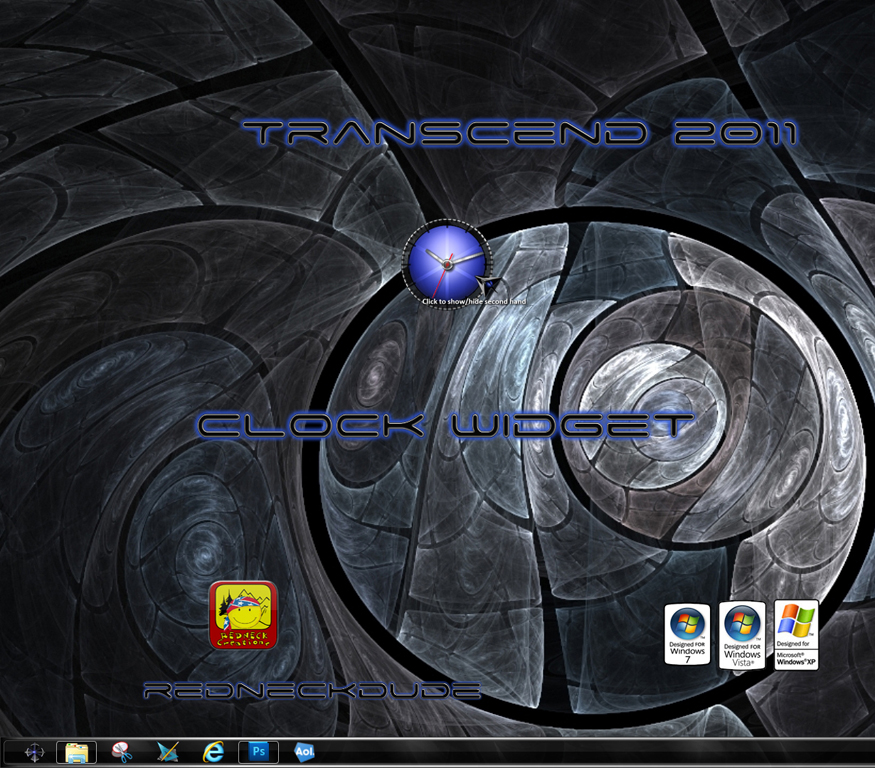 Transcend 2011 Clock Widget