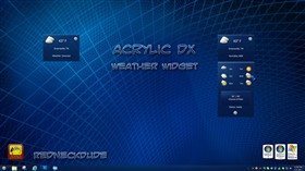 Acrylic Weather Widget