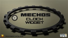 Mechos Clock Widget