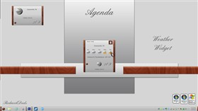 Agenda Weather Widget