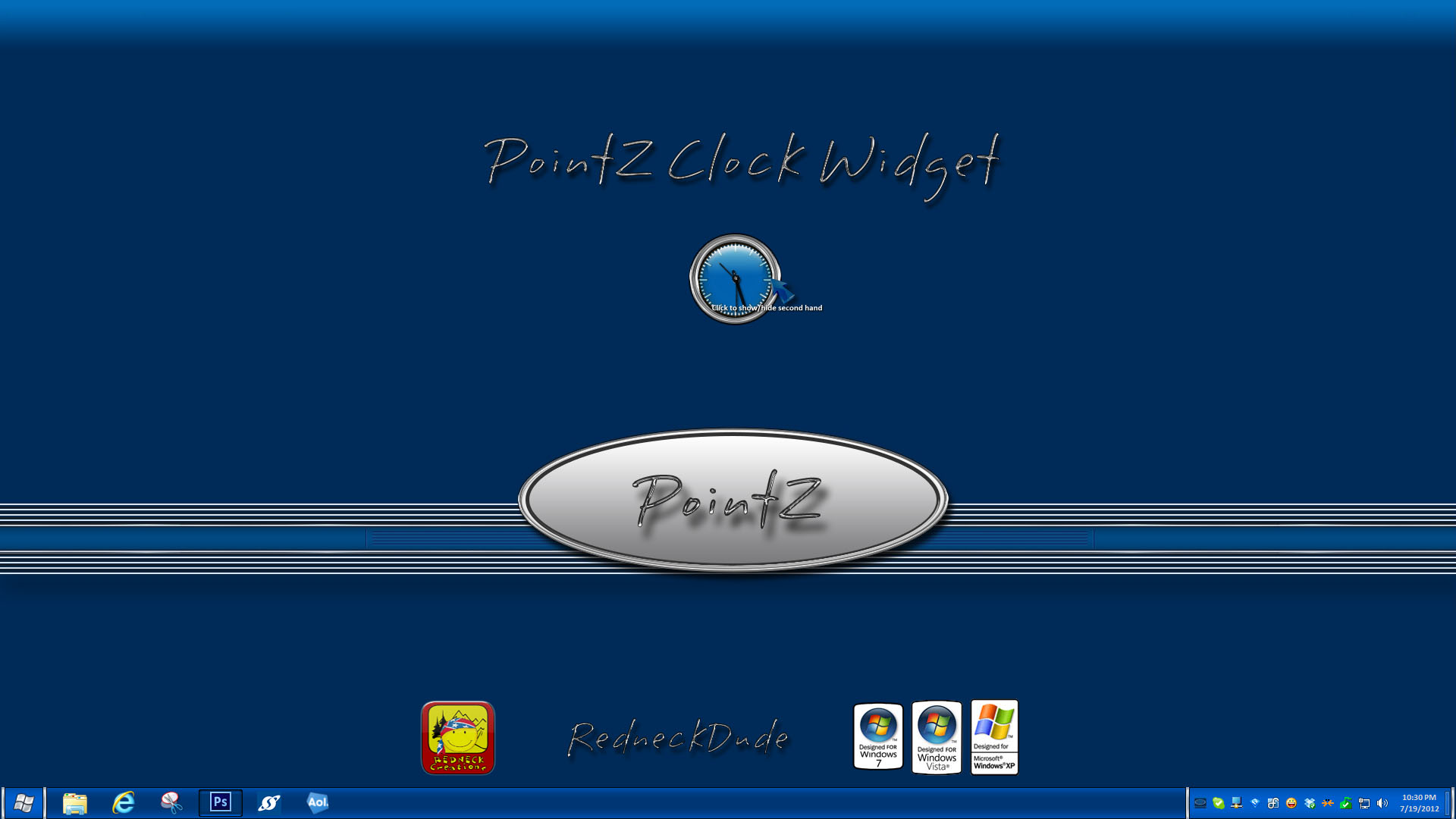 PointZ Clock Widget
