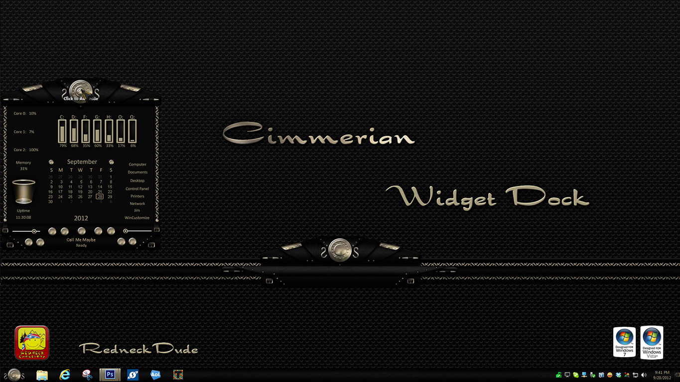 Cimmerian Widget Dock