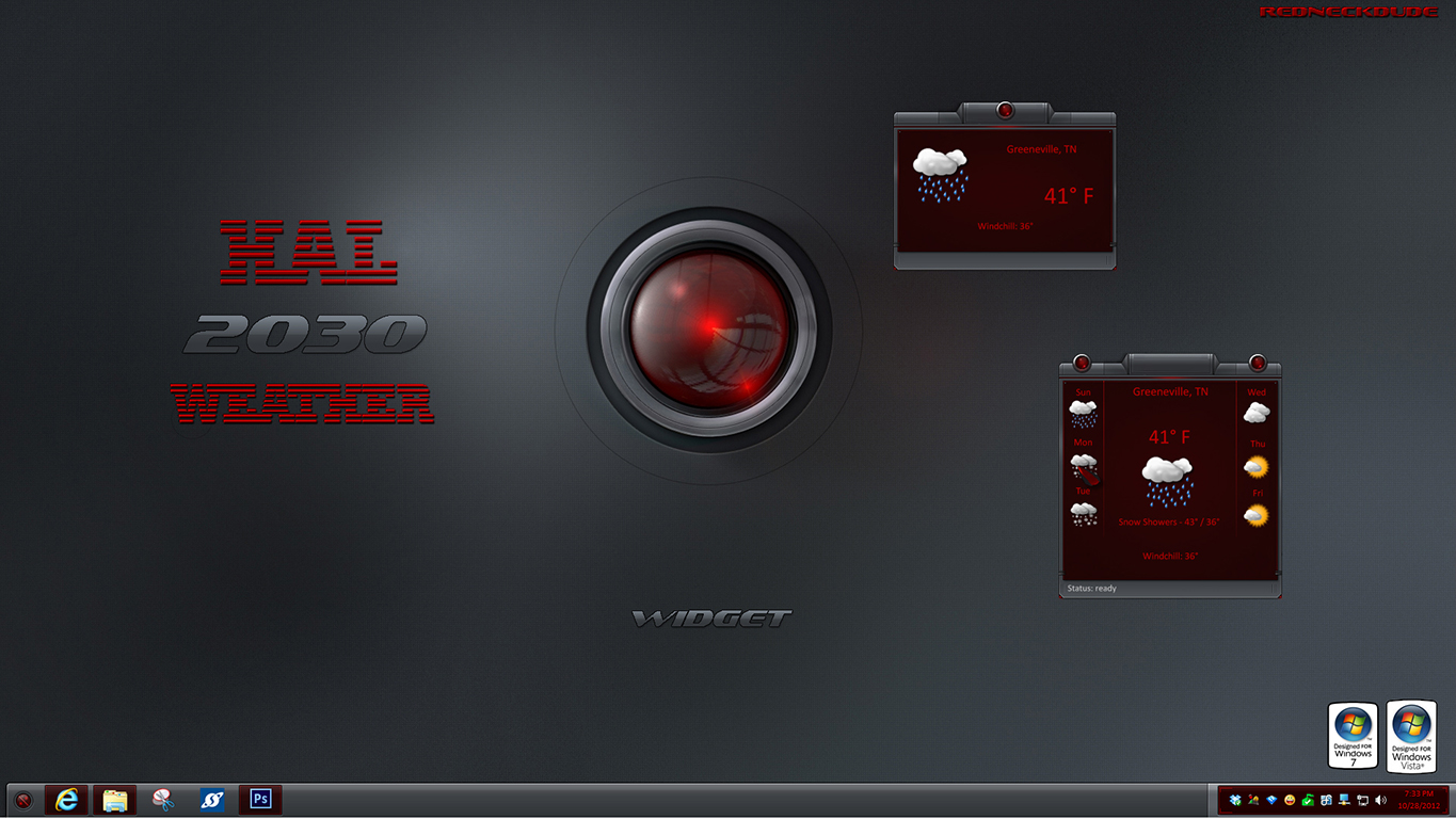 HAL 2030 Weather Widget