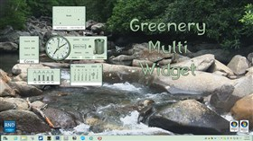 Greenery Multi Widget