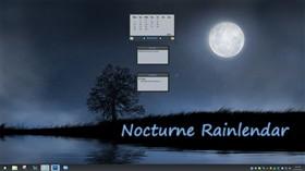 Nocturne Rainlendar