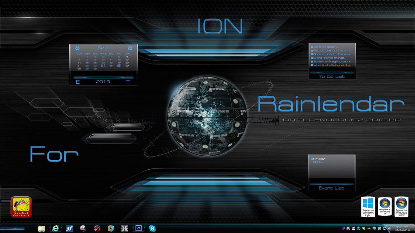 Ion Rainlendar