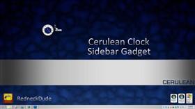 Cerulean Clock Sidebar Gadget